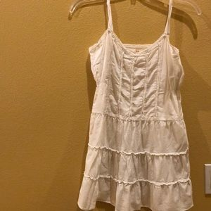 Free People white short dress size 8